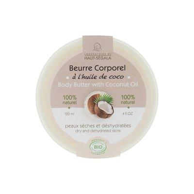 Beurre corporel à l'huile de coco - Laboratoire du haut segala - Corps