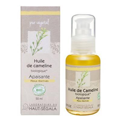 Organic* camelina oil - Laboratoire du haut segala - Massage and relaxation