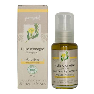 Evening primrose oil - Laboratoire du haut segala - Massage and relaxation