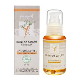 Organic* carrot oil - Laboratoire du haut segala - Massage and relaxation