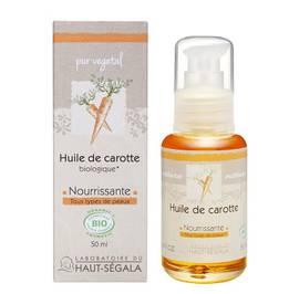 Huile végétale de carotte - Laboratoire du haut segala - Massage et détente