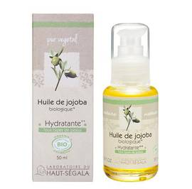 Huile végétale de jojoba - Laboratoire du haut segala - Massage et détente
