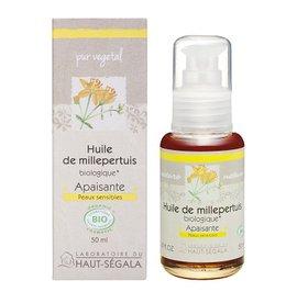 Organic* st. john's wort oil - Laboratoire du haut segala - Massage and relaxation