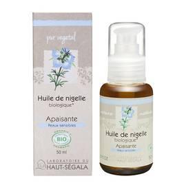 Huile végétale de nigelle - Laboratoire du haut segala - Massage et détente