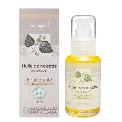 Huile végétale de noisette - Laboratoire du haut segala - Massage et détente