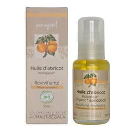 Huile végétale d'abricot - Laboratoire du haut segala - Massage et détente
