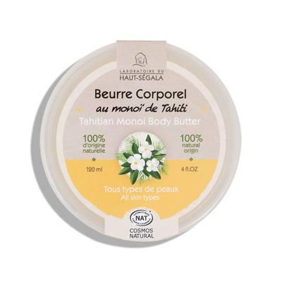 Beurre corporel au Monoï de Tahiti - Laboratoire du haut segala - Corps