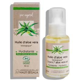 Aloe vera oil - Laboratoire du haut segala - Face - Body - Hair