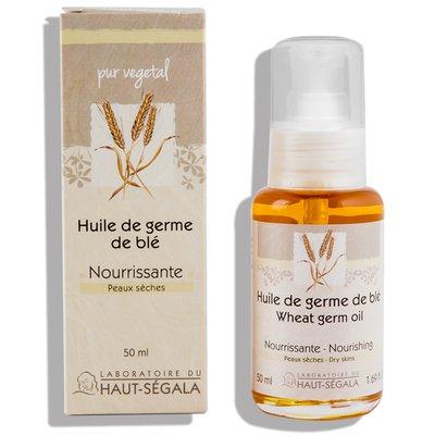 Wheat germ oil - Laboratoire du haut segala - Face - Hair - Body
