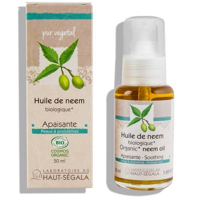 Neem oil - Laboratoire du haut segala - Face - Body - Hair