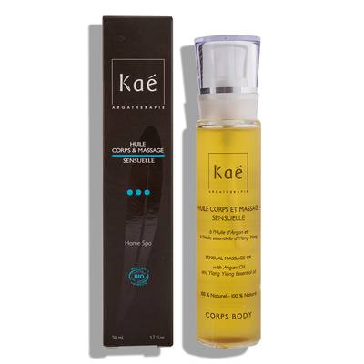 Body oil and sensual massage - Kaé - Massage and relaxation