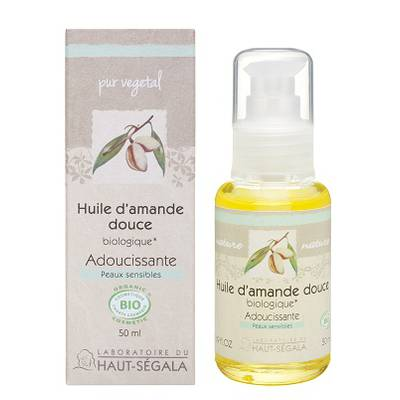 Organic* almond oil - Laboratoire du haut segala - Massage and relaxation
