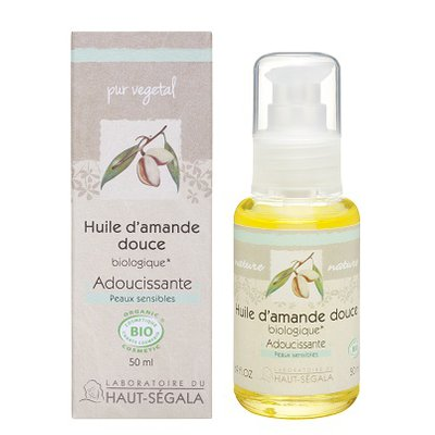 Organic* almond oil - Laboratoire du haut segala - Massage and relaxation