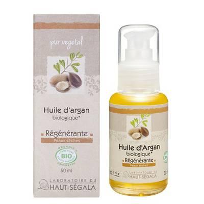 Huile végétale d'argan  - Laboratoire du haut segala - Massage et détente