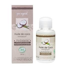 Huile végétale de Coco - Laboratoire du haut segala - Massage et détente