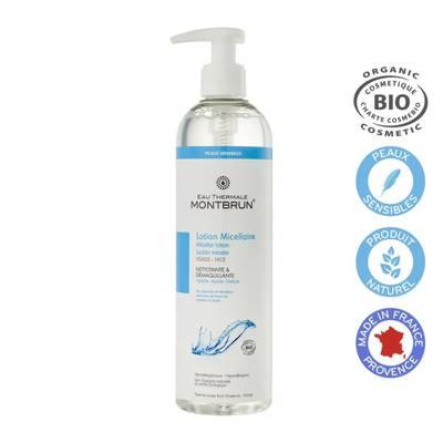 Lotion micellaire nettoyante & démaquillante - EAU THERMALE MONTBRUN - Visage