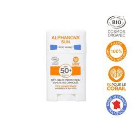 image produit Stick solaire bleu très haute protection visage spf50+