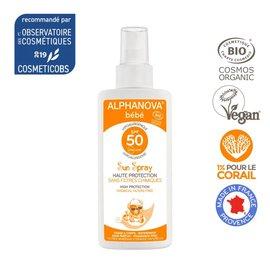 image produit Crème solaire bébé hypoallergénique spf 50