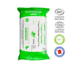 Cleansing wipes - ALPHANOVA BEBE - Baby / Children