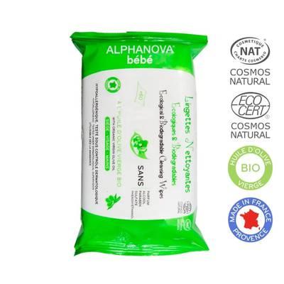 Cleansing wipes - ALPHANOVA BEBE - Baby / Children
