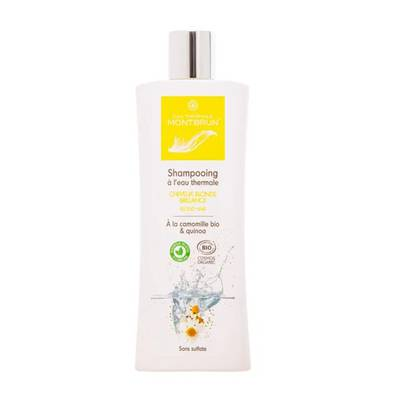 Shampoo for blond hair - EAU THERMALE MONTBRUN - Hair