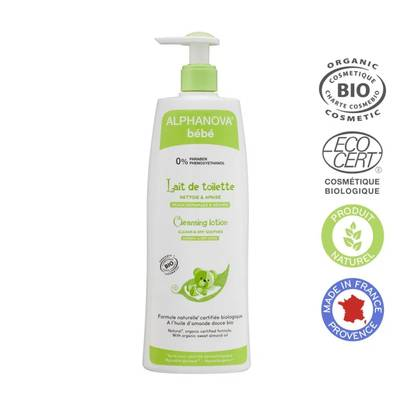 Cleansing milk - ALPHANOVA BEBE - Baby / Children