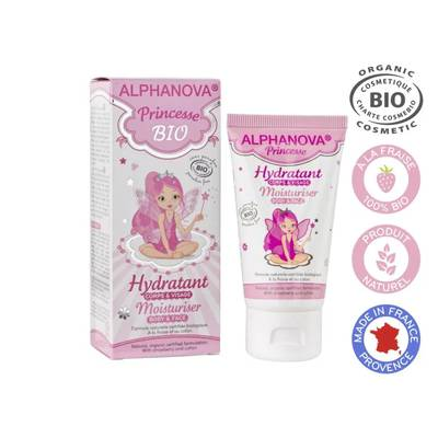Face and body cream - ALPHANOVA KIDS - Baby / Children
