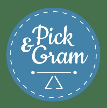 pick & gram logo