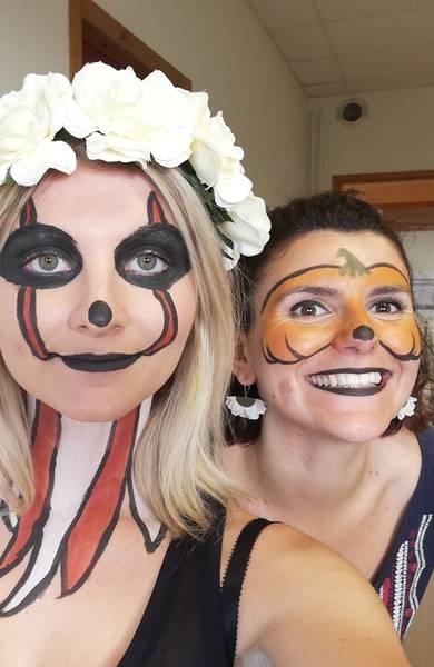 Pour Halloween, adulte comme enfant, on mise sur le maquillage naturel !