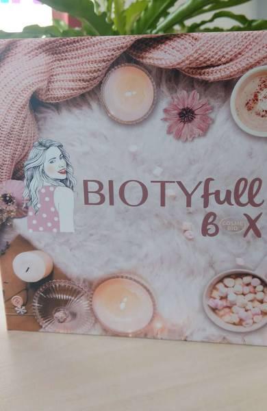 Découvrez la Biotyfull Box 100% Cosmébio de novembre 2019 !