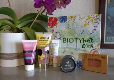 Découvrez la Biotyfull Box 100% Cosmébio d'avril 2019 !