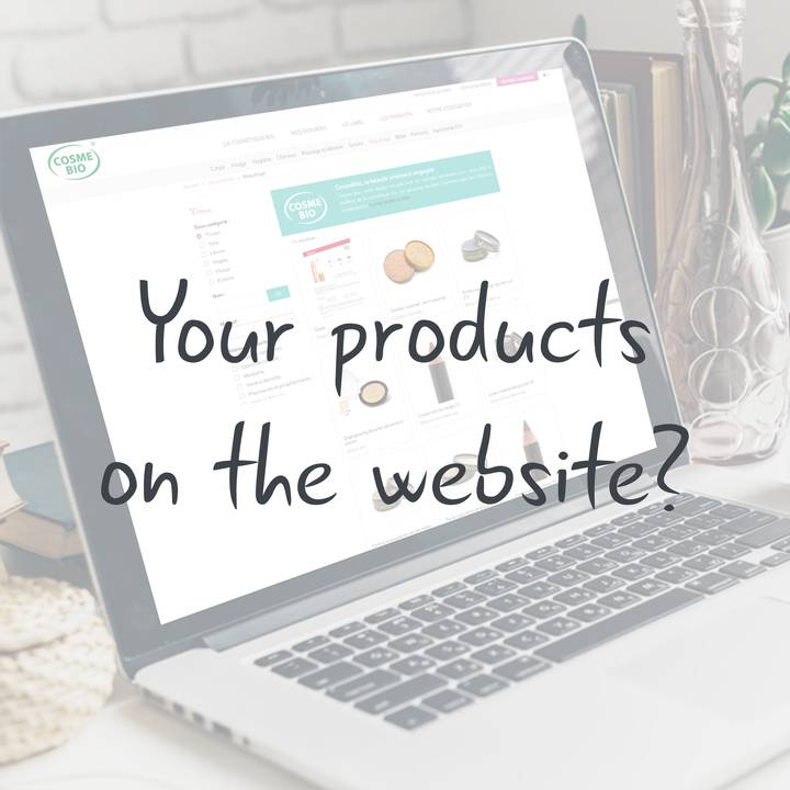 how-to-see-your-products-on-cosmebio-website